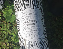 Crafters Union Pinot Gris Packaging