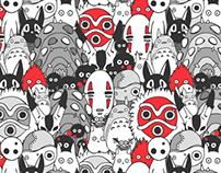Ghibli Pattern