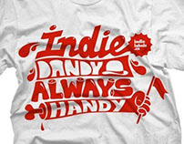 Indie dandy always handy