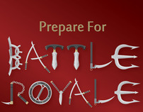 Battle Royale Illustrative Typeface
