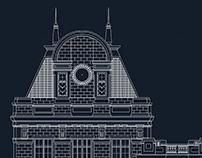 São Bento Station Autocad Reconstruction