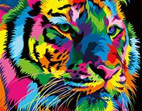 13 Colorful Animal Vector Illustration
