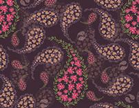 Paisleys Surface Pattern
