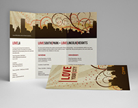 Love Ministries Tri-Fold Brochure & Contact Card