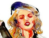 Fashion Illustration   #2_Retro Style
