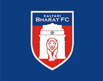 Kalyani Bharat FC | Mascot Illustration
