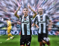Edit And Retouching For Paulo Dybala
