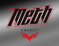 Meth Energy Drink   Logo Development
