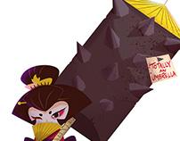 Geisha - Character Design Challenge