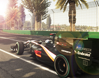 F1 2011 - UI