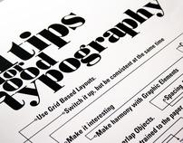 Typographic Fanzine