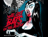She Got Bats on the Belfry