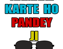 Kamaal karte ho Pandey Ji T-shirts
