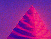 Neon Pyramid.