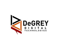 DeGREY Digital Technologies Logo design