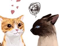 Lesslie & Cats /Je t'aime