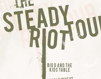 Steady Riot Tour..Providence Show