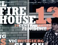 Firehouse 13 gig poster