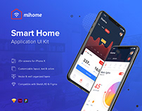 MIHOME - Smart Home UI Kit