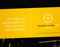 Alexandre + Cristina Lima