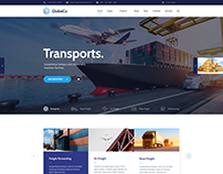 GlobeCo - Transportation & Logistics WordPress Theme