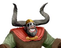 Ullr Mascot Design