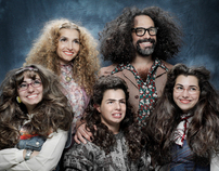 The Drano Hairy Family