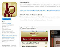 Hello Vino iPhone App (2.0)