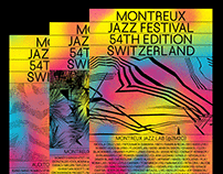 Montreux Jazz Festival - Redesign