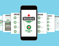Colección de diseños de varias interfaces de apps