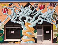 """Gods In Love - """"Tree of Life"""" - Matera, Italy"""