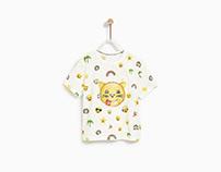 Zara Baby Boy SS 18 - Watercolor Emojis