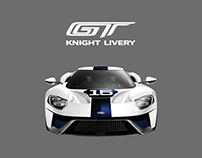 2017 Ford GT Custom KNIGHT Livery