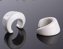 """""""O&C"""" porcelain rings for HIM and HER"""