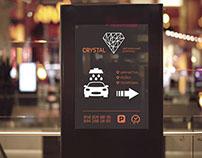 'Crystal' car wash branding design