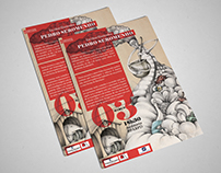 Flyer design - Escritor/Ilustrador Pedro Seromenho