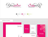 Yasmine Spa Logo Branding
