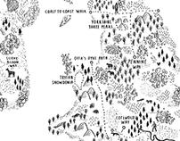 Walk the UK & Ireland map
