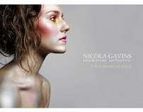 Nicola Gavins Makeup Artistry Advertisement