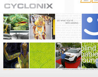 Cyclonix - Homepage Redesign