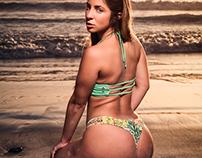 Jami at the beach