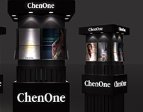 chenOne poster display stand