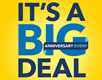 Best Buy: Anniversary Event Email/Animation