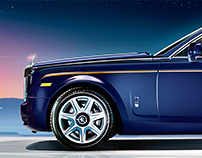 Rolls-Royce Phantom Illustration
