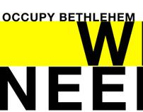 Occupy Bethlehem Poster