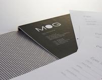 redesign MOG eyewear brand identity