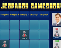 Jeopardy Game Layout