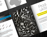 Brochure design for Vol-Stahl GmbH