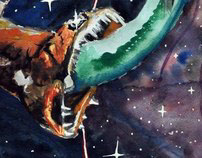 Dragonfish & Viperfish in Space