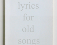 NEW LYRICS FOR OLD SONGS